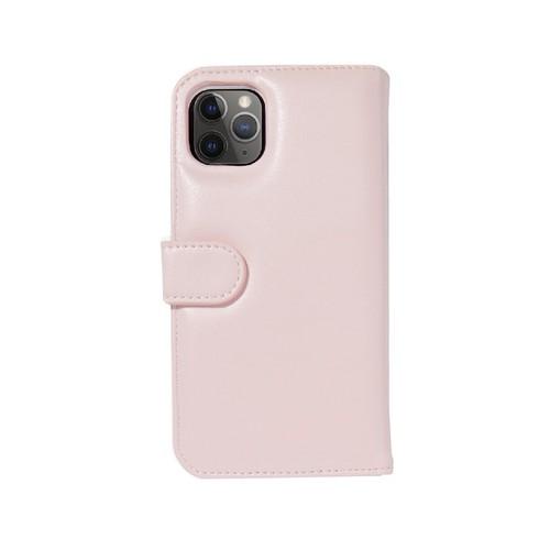 美國 BONDIR|iPhone 11 Pro Detachable Wallet Pink 粉紅皮套式軍規防摔手機保護殼