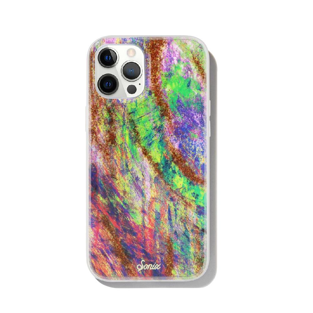 美國 Sonix|iPhone 12 / 12 Pro Mardi Gras 彩色狂熱抗菌軍規防摔手機保護殼