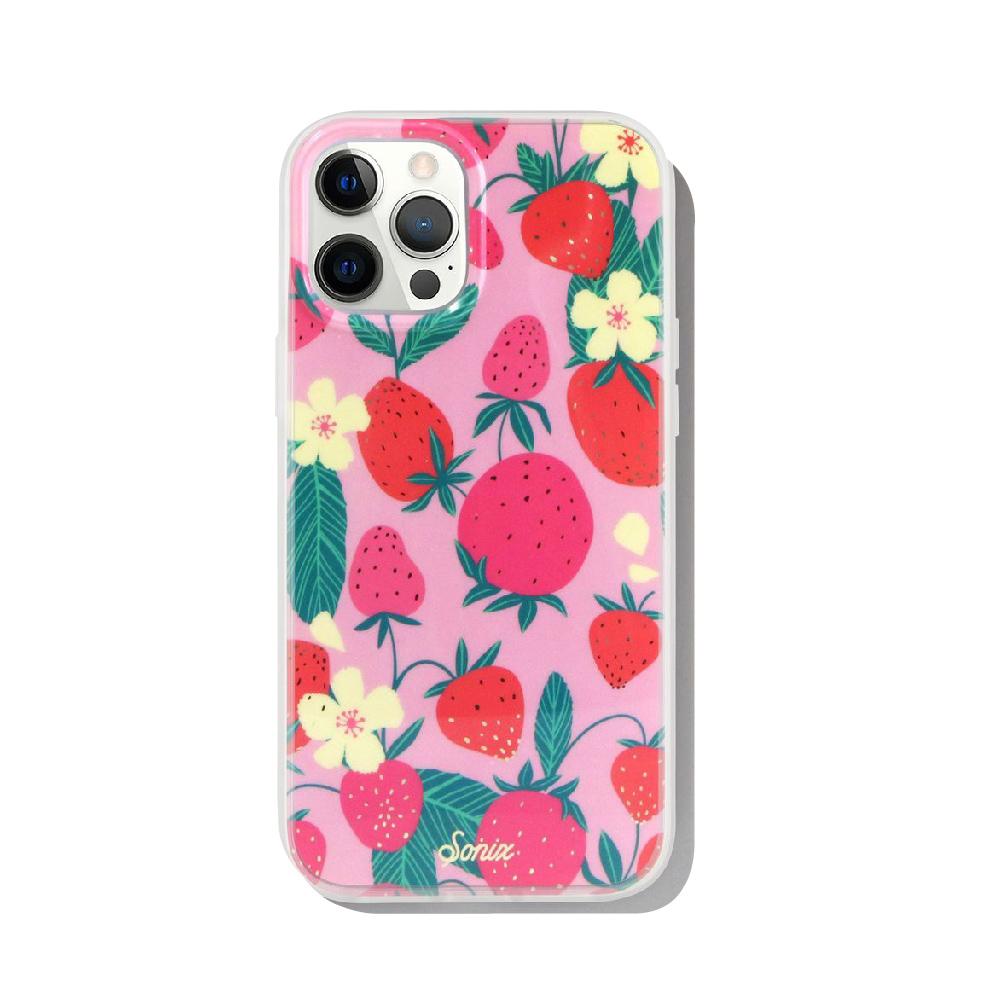 美國 Sonix|iPhone 12 / 12 Pro Shortcake 草莓修多抗菌軍規防摔手機保護殼
