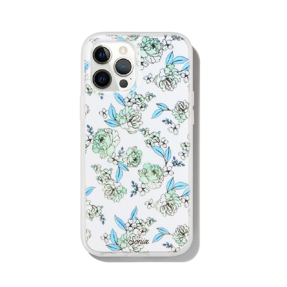 美國 Sonix iPhone 12 Pro Max Floral Fantasy Chalk MagSafe 花純淨抗菌軍規防摔手機保護殼