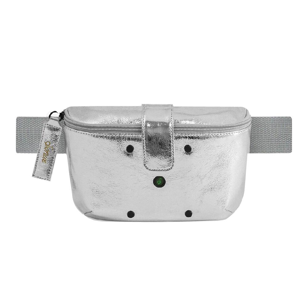 美國 Sonix|Everywhere Sanitizing UV Bag-Silver 萬用雙重殺菌消毒隨身包-銀色