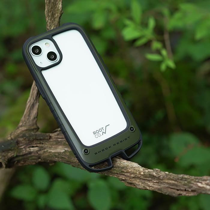 (複製)日本 ROOT CO. iPhone 13 mini 雙掛勾式防摔手機殼 - 共四色