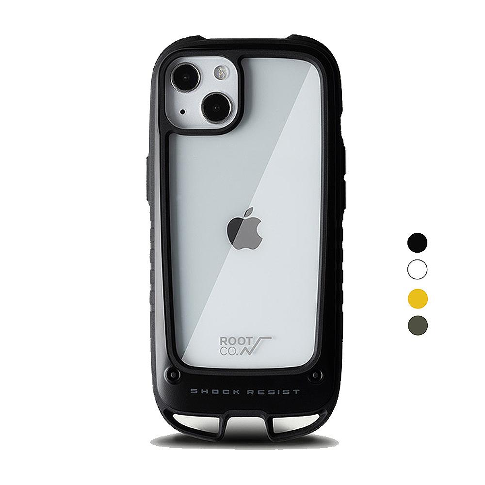 日本 ROOT CO. iPhone 13 雙掛勾式防摔手機殼 - 共四色