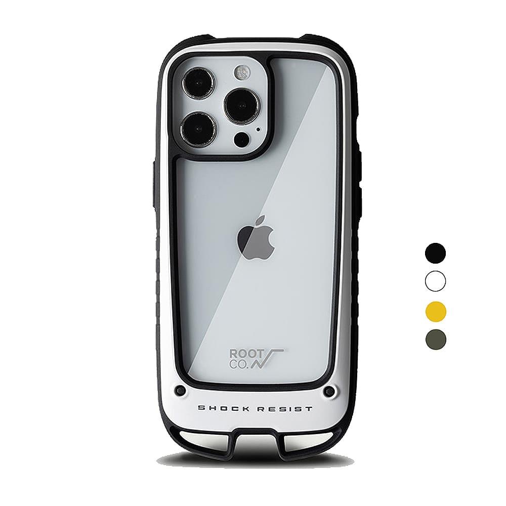 日本 ROOT CO.|iPhone 13 Pro 雙掛勾式防摔手機殼 - 共四色