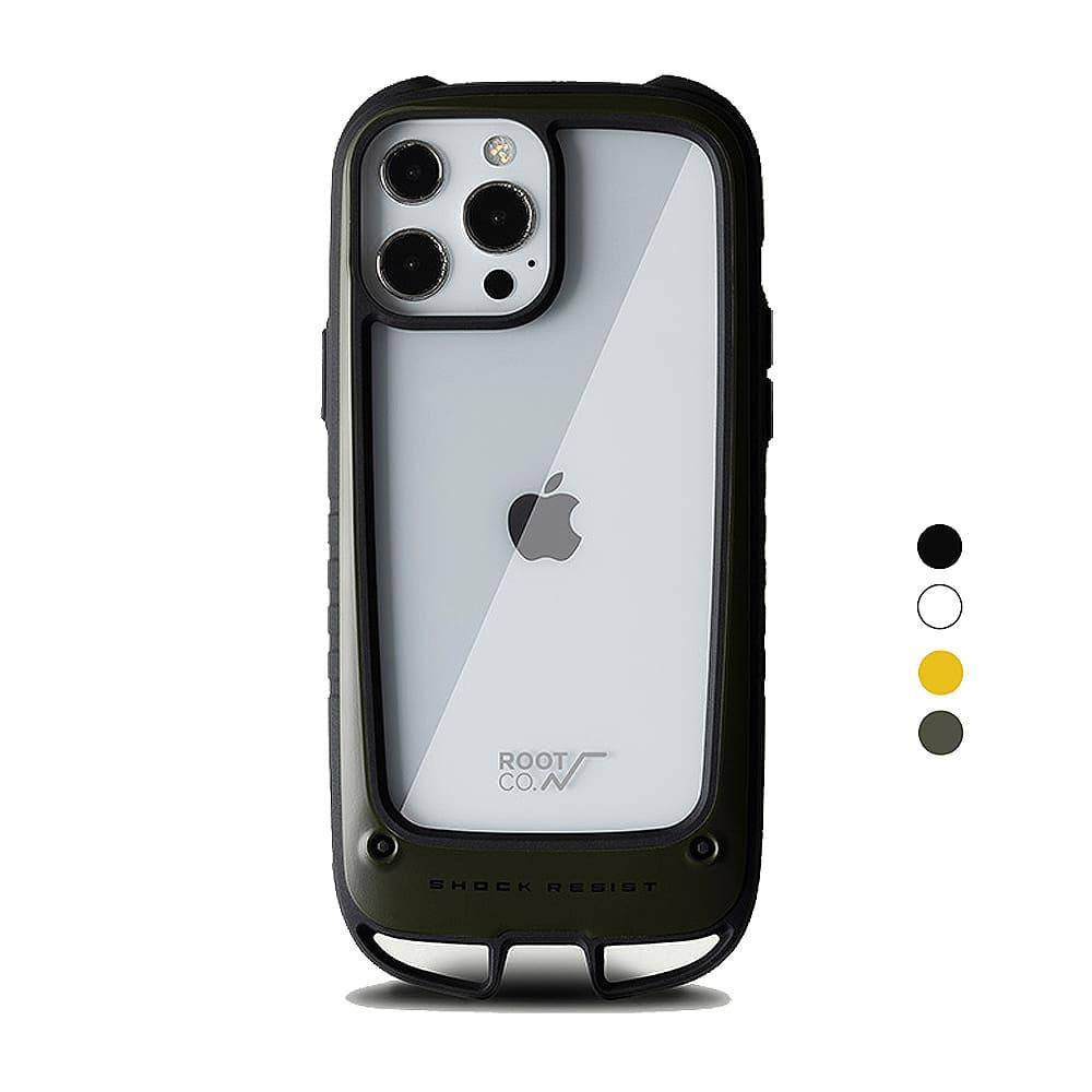 日本 ROOT CO. iPhone 13 Pro Max 雙掛勾式防摔手機殼 - 共四色