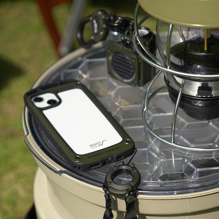 (複製)日本 ROOT CO. iPhone 13 mini 透明背板上掛勾防摔手機殼 - 共四色
