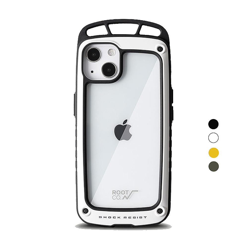 日本 ROOT CO. iPhone 13 透明背板上掛勾防摔手機殼 - 共四色