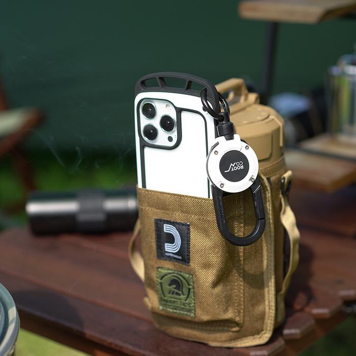 (複製)日本 ROOT CO.|iPhone 13 透明背板上掛勾防摔手機殼 - 共四色