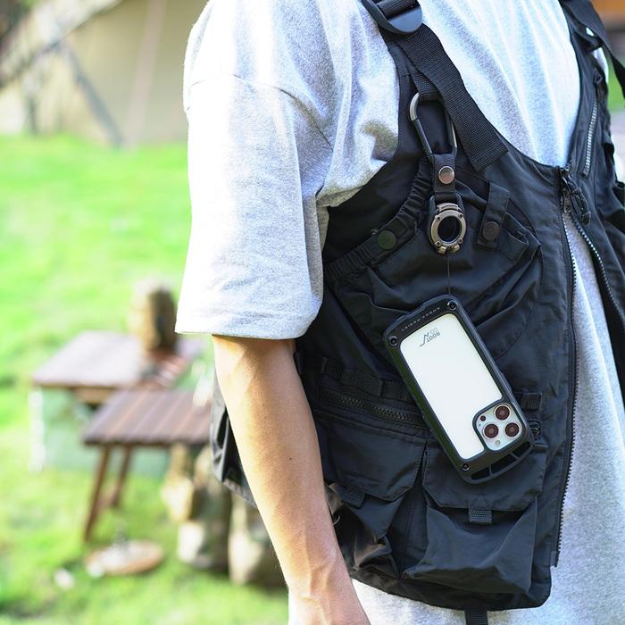 (複製)日本 ROOT CO. iPhone 13 Pro 透明背板上掛勾防摔手機殼 - 共四色