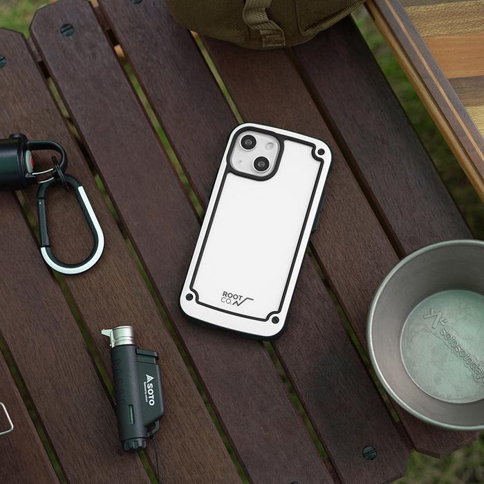 (複製)日本 ROOT CO. iPhone 13 mini 透明背板防摔手機殼 - 共四色
