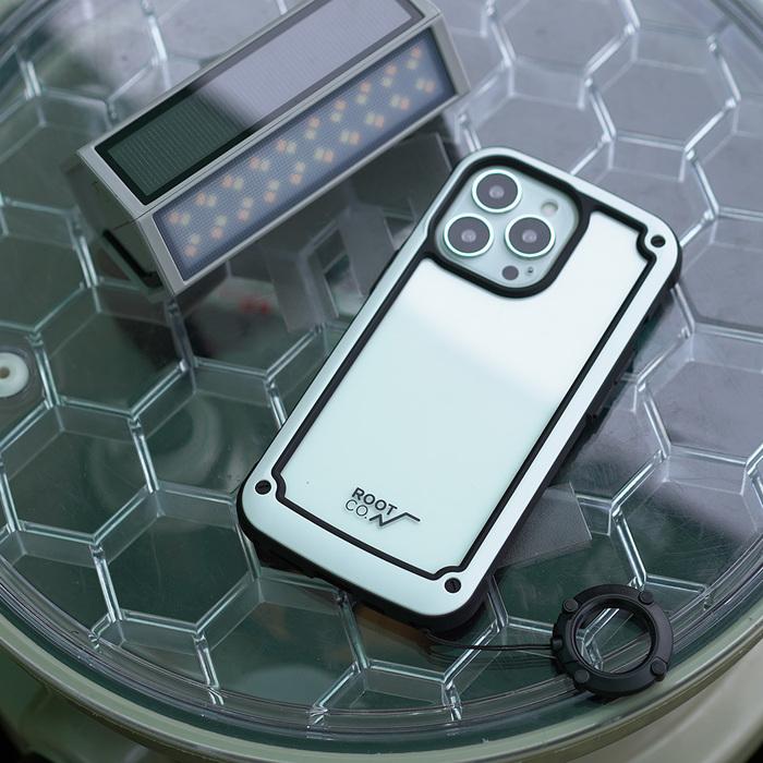 (複製)日本 ROOT CO. iPhone 13 Pro 透明背板防摔手機殼 - 共四色