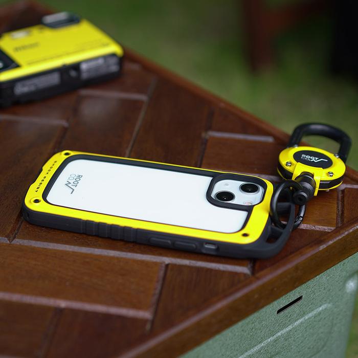 (複製)日本 ROOT CO. iPhone 13 Pro Max 雙掛勾式防摔手機殼 + 360度旋轉登山扣 - 共四色