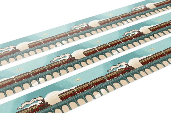 (複製)大寬文化|《火車上的捉迷藏》金屬烤漆磁鐵(行李箱)