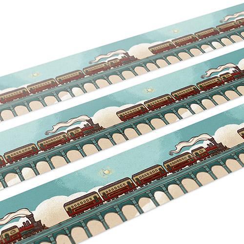 大寬文化|《火車上的捉迷藏》火車寬版紙膠帶