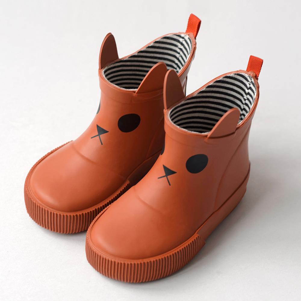 法國BOXBO Kerran雨靴(遊樂園/貓咪橘)