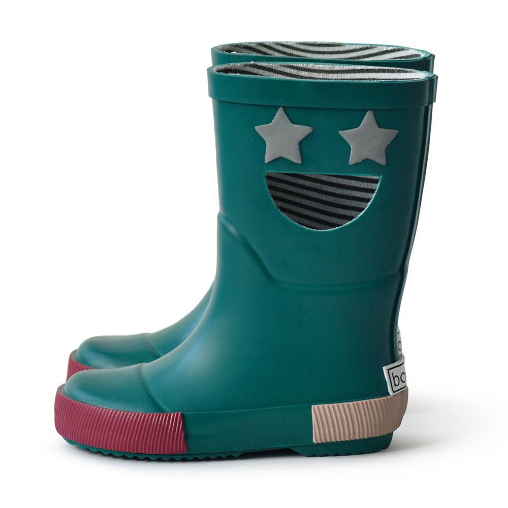 法國BOXBO|WISTITI Star雨靴(我愛閃爍星/石青綠)