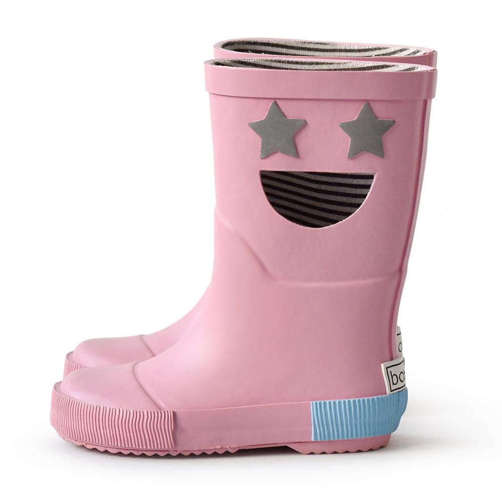 法國BOXBO WISTITI Star雨靴(我愛閃爍星/桃花粉)