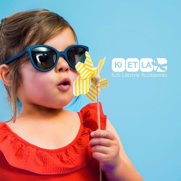法國Ki ET LA|OURS'ON萌貝熊幼兒太陽眼鏡(杏仁綠)