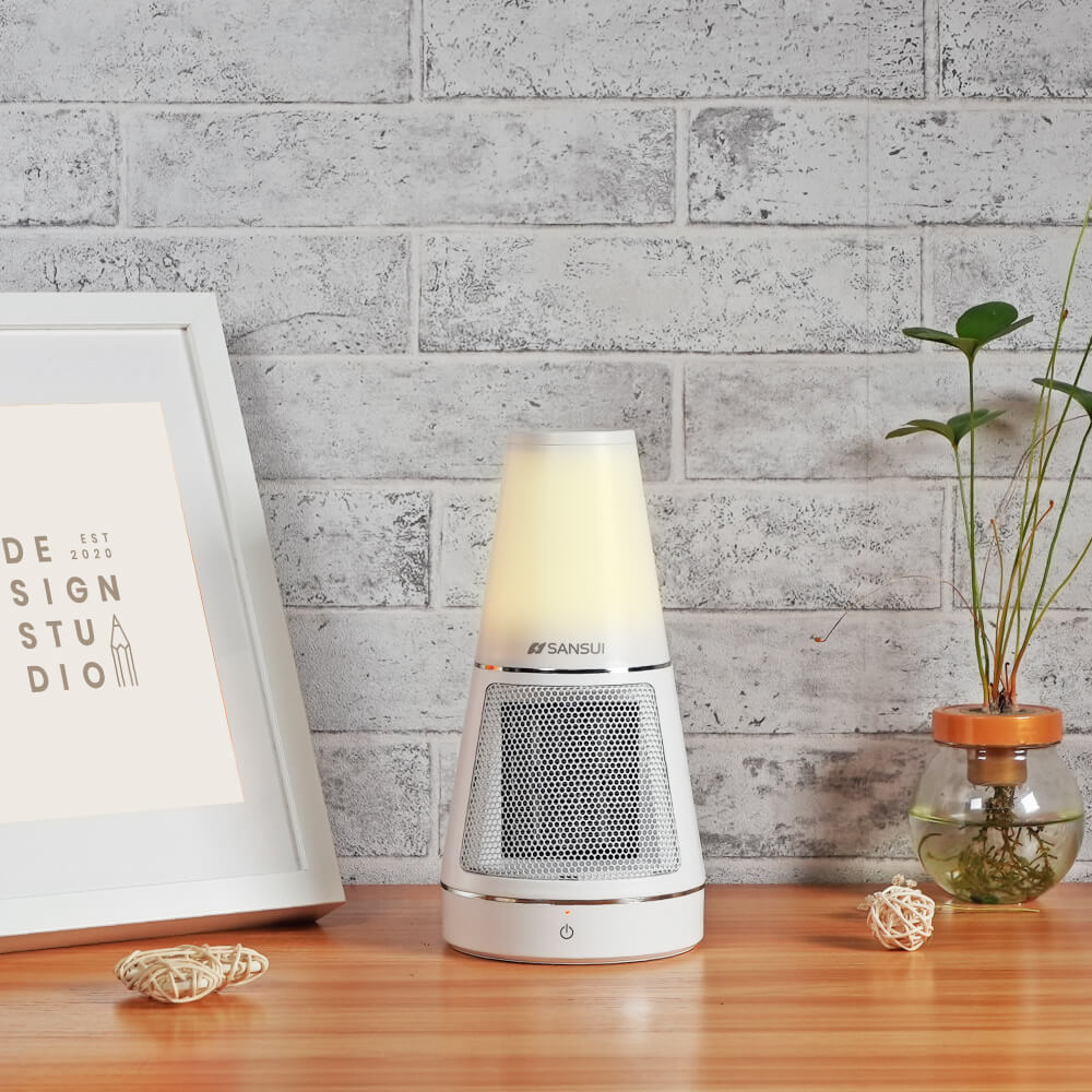 SANSUI 山水 夜燈美型 PTC 陶瓷電暖器 SH-DQ80