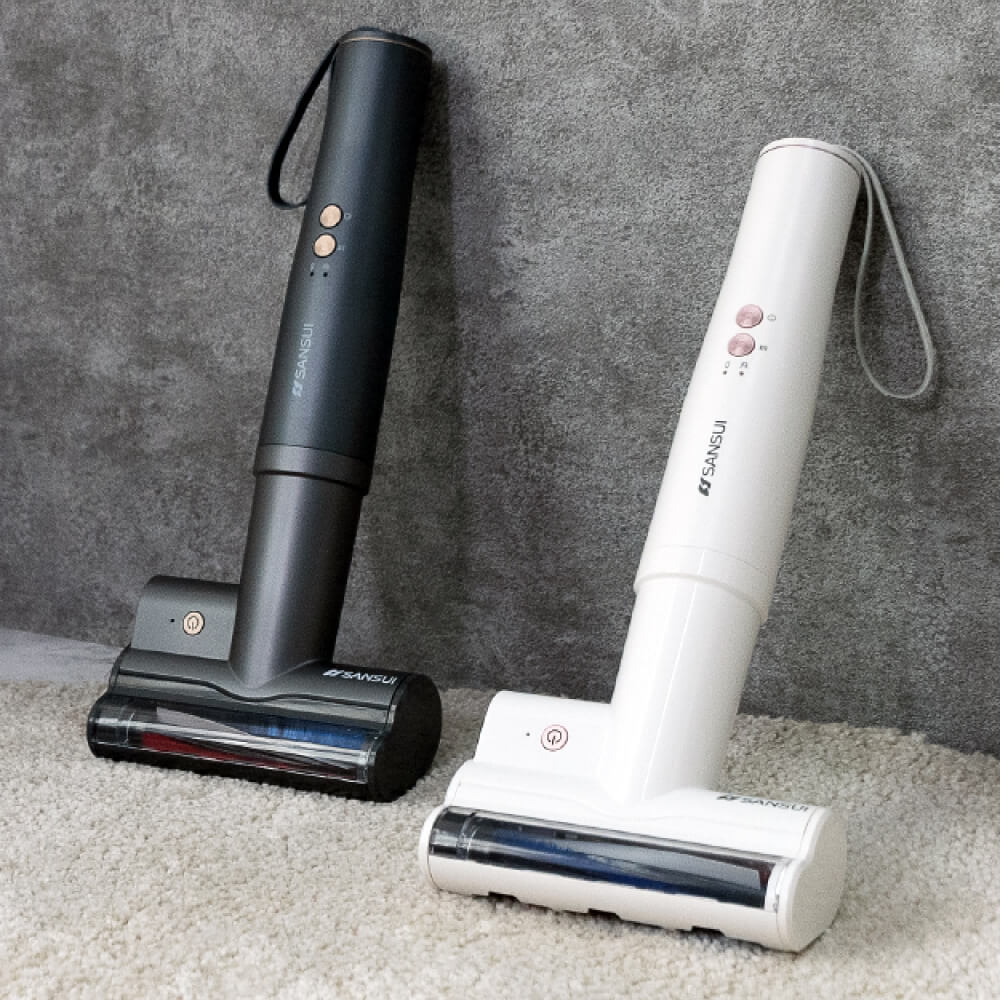 SANSUI 山水|輕淨吸迷你無線吸塵器專用除螨刷 SVC-DD1/SVC-L175適用(SVC-003 白/灰)