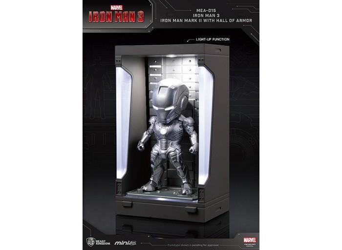 野獸國 MEA-015 鋼鐵人3 裝甲格納庫-鋼鐵人 MK2