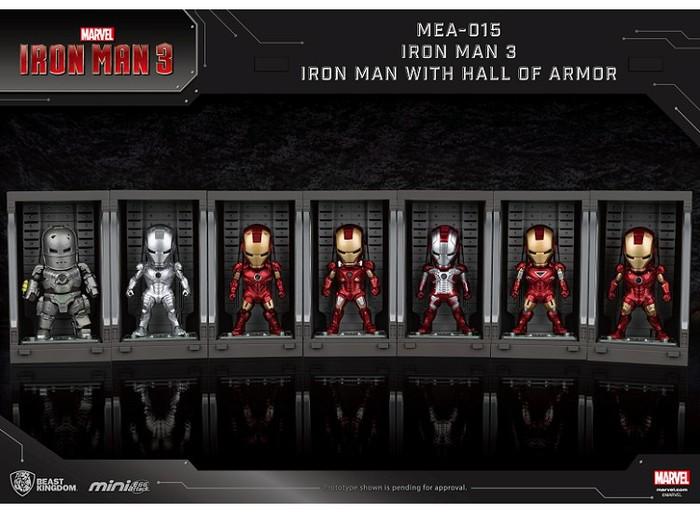 野獸國|MEA-015 鋼鐵人3 裝甲格納庫-鋼鐵人 MK3