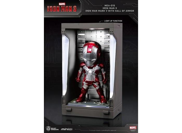 野獸國|MEA-015 鋼鐵人3 裝甲格納庫-鋼鐵人 MK5