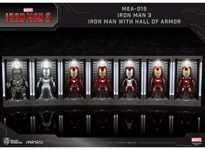 野獸國 MEA-015 鋼鐵人3 裝甲格納庫-鋼鐵人 MK6