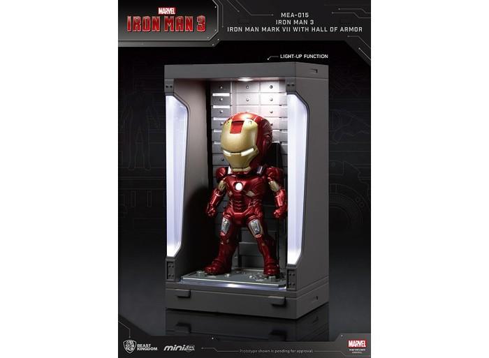 野獸國|MEA-015 鋼鐵人3 裝甲格納庫-鋼鐵人 MK7