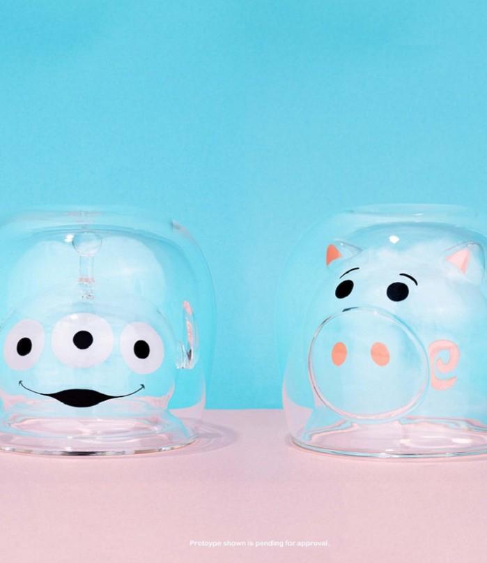 野獸國|玩具總動員 雙層玻璃杯系列 三眼怪款