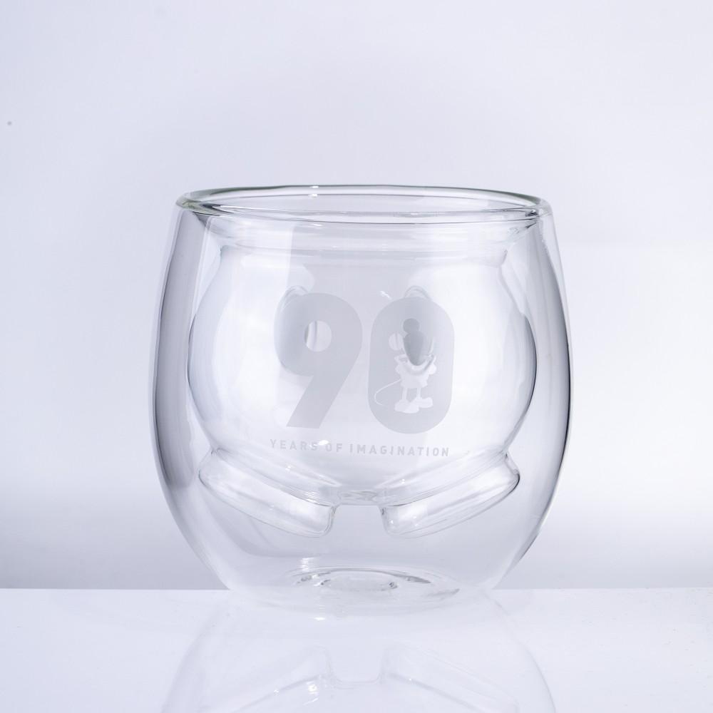 野獸國|經典米奇系列 雙層玻璃杯 米奇短褲款