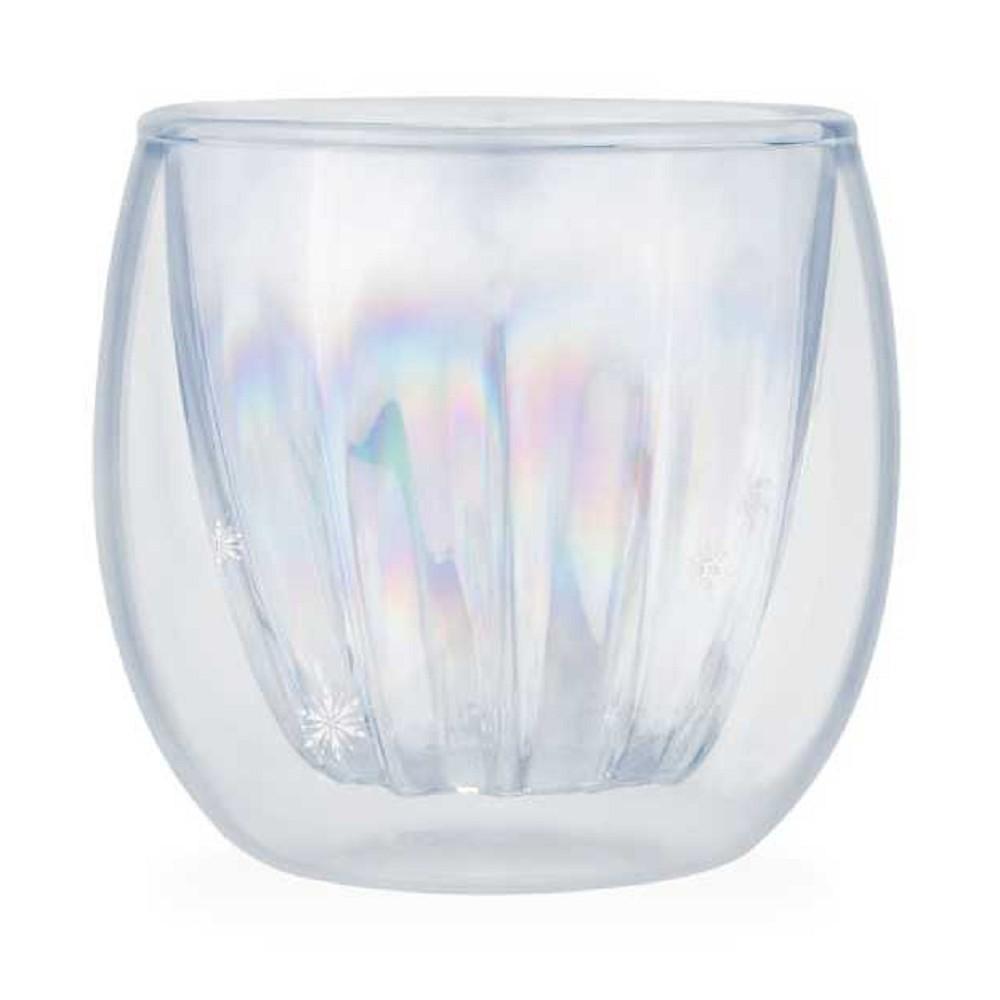 野獸國|冰雪奇緣2系列  雙層玻璃杯 艾莎款