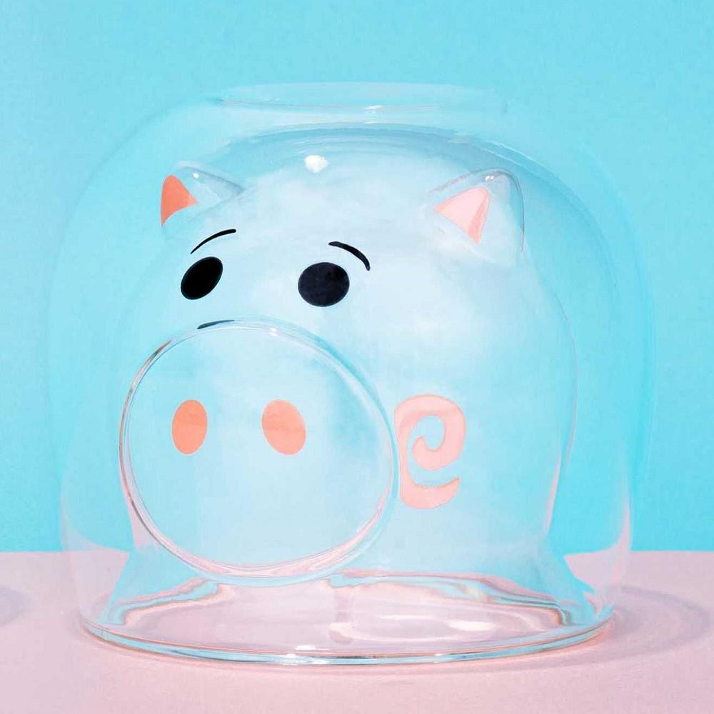 野獸國|玩具總動員 雙層玻璃杯系列 火腿豬款