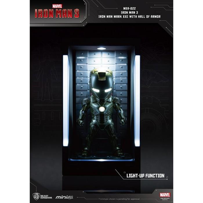 野獸國|MEA-022鋼鐵人3裝甲格納庫-鋼鐵人MK21