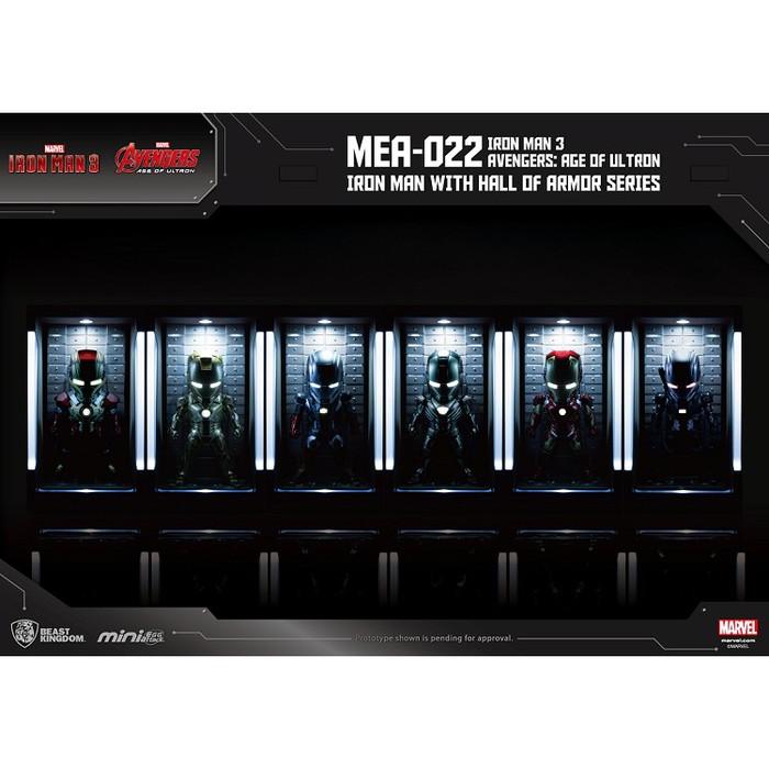 野獸國 MEA-022鋼鐵人3裝甲格納庫-鋼鐵人MK22
