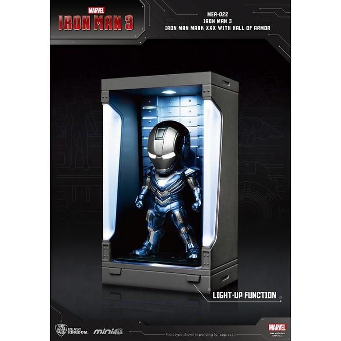 野獸國|MEA-022鋼鐵人3裝甲格納庫-鋼鐵人MK30