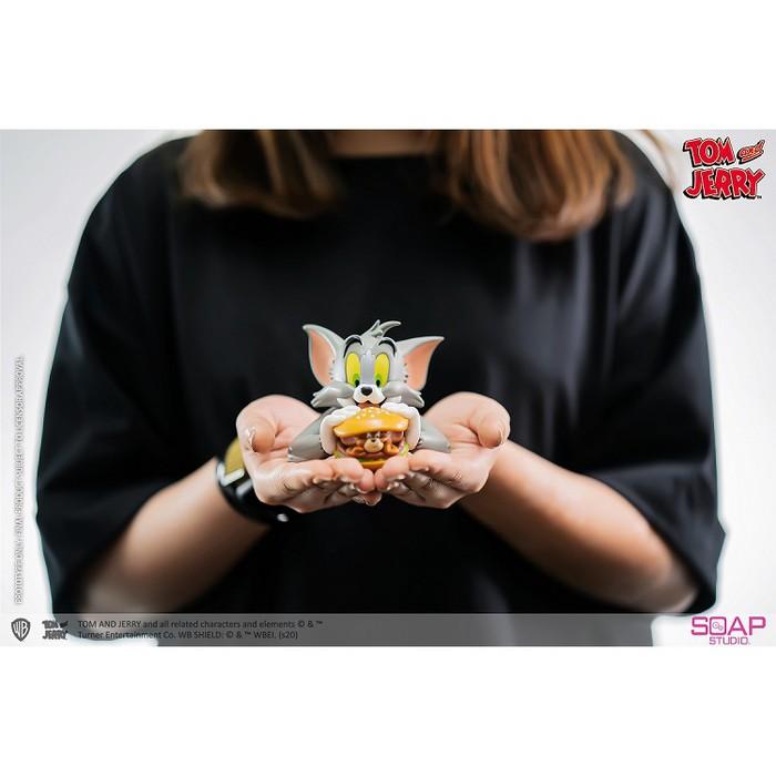 (複製)野獸國|CA903湯姆貓與傑利鼠 迷你半身胸像 招財貓款