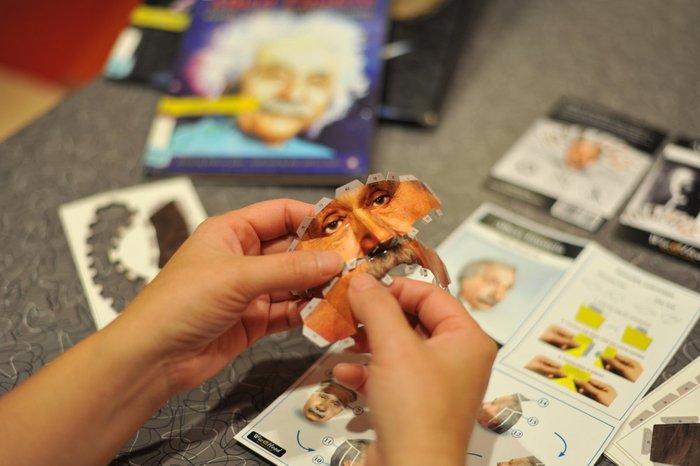 頭咖TaoKa|3D立體手作頭殼拼圖|發明家達文西