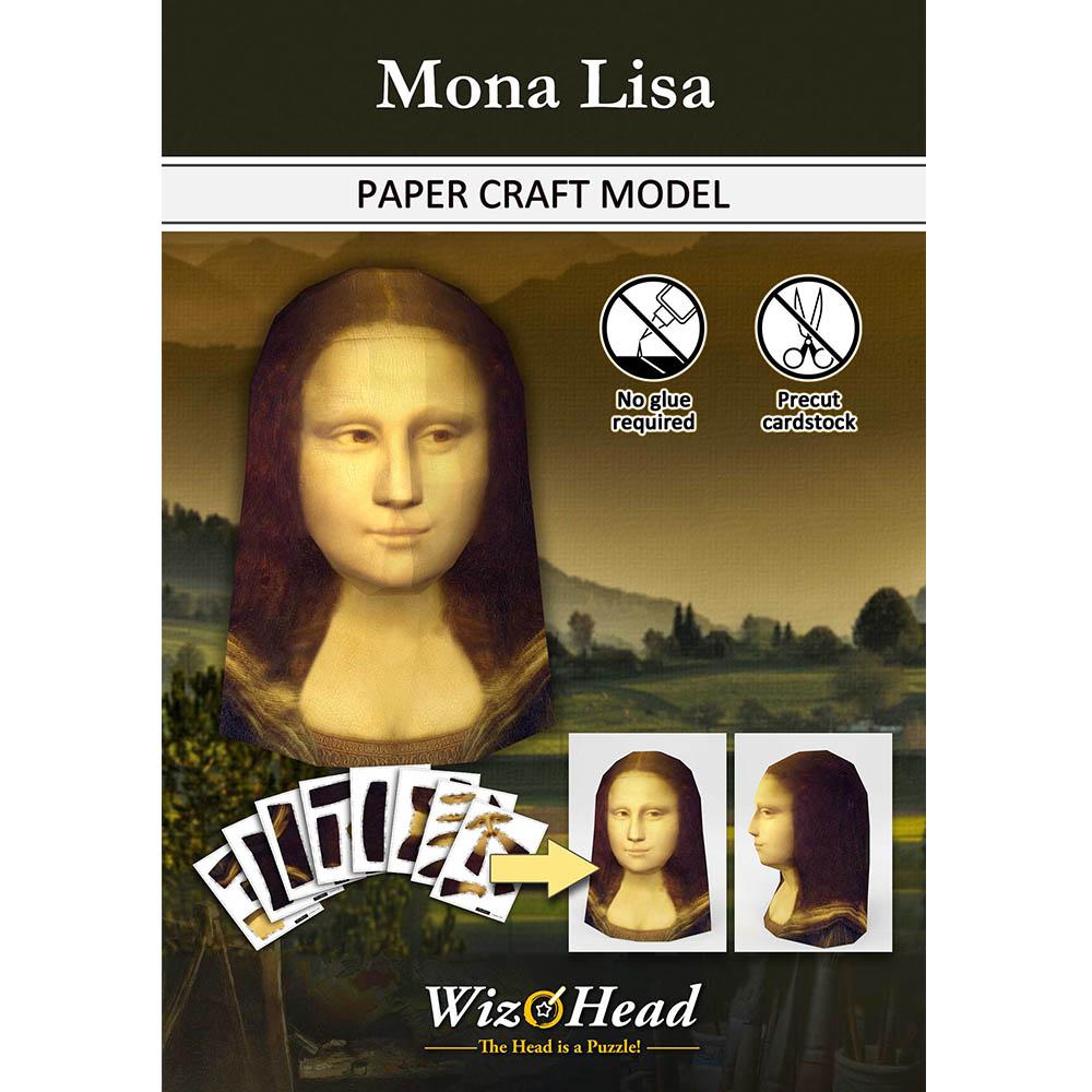 頭咖TaoKa事務所| 3D立體手作頭殼拼圖 - 微笑的蒙娜麗莎