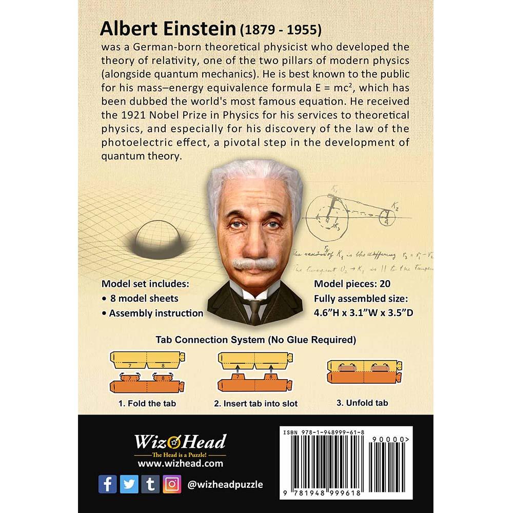 頭咖TaoKa事務所|3D立體手作頭殼拼圖 - 天才愛因斯坦