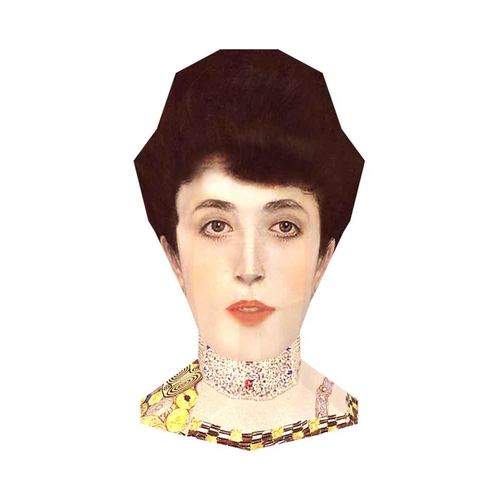 頭咖TaoKa事務所 3D立體手作頭殼拼圖 - 艾蒂兒的肖像