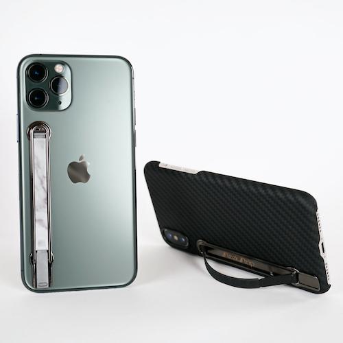 SleekStrip|犀利釦手機支架-消光黑框X海軍藍