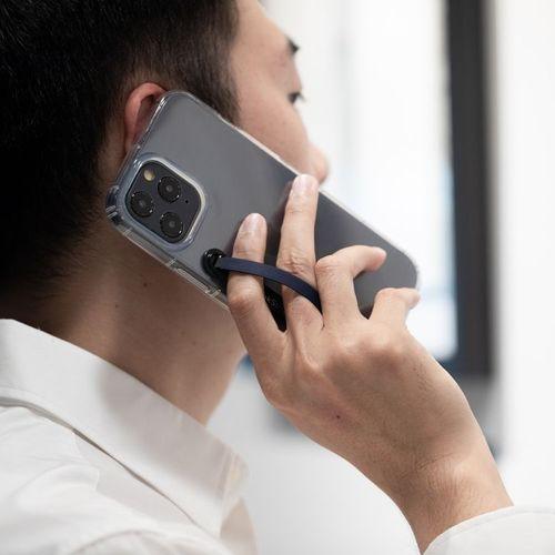 SleekStrip 犀利釦手機支架-消光黑框X海軍藍