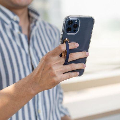 SleekStrip|犀利釦手機支架-金框X海軍藍