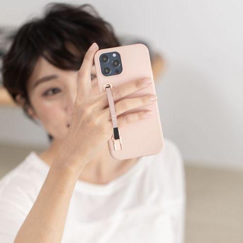 SleekStrip 犀利釦手機支架-玫瑰金框X珊瑚粉紅