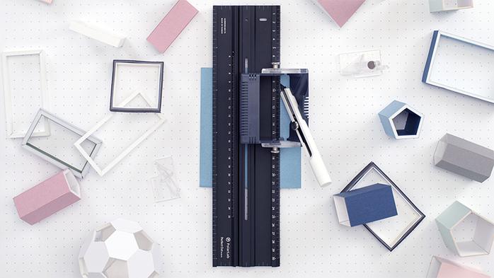 【集購】PolarLab Perfect Cut 亟能美工工具組-壓克力尺