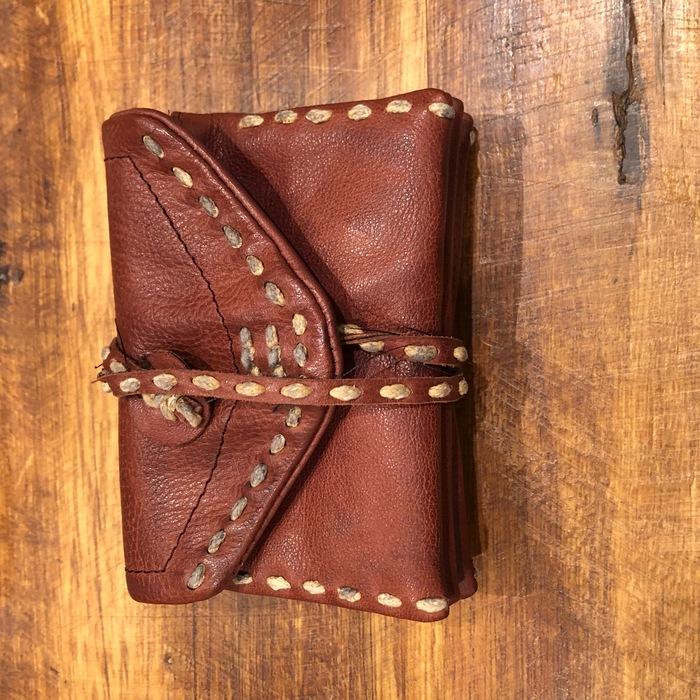 (複製)blackyard︱水洗羊皮抓皺零錢卡夾