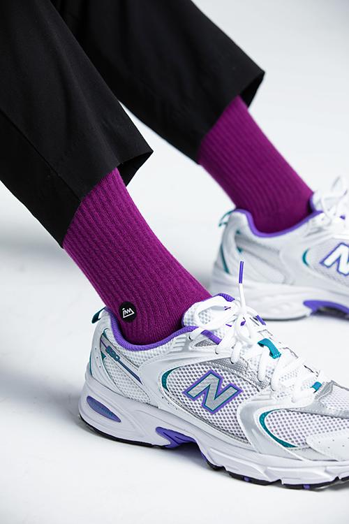 (複製)FAAM|On Fleek 70 灰藍 - 中高筒運動休閒襪