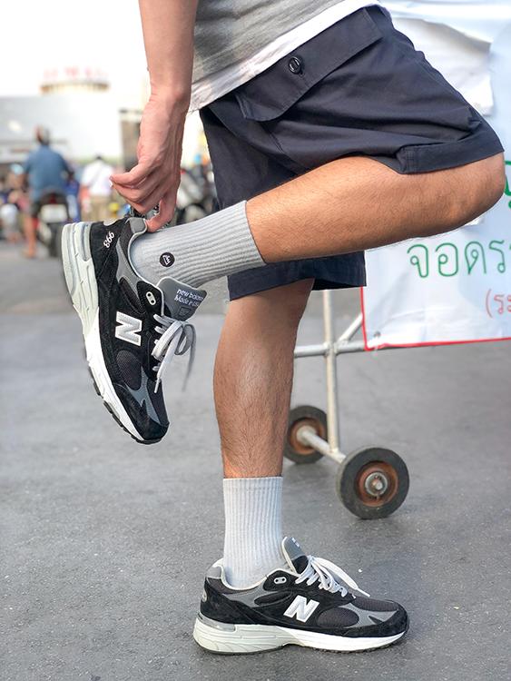 (複製)FAAM|On Fleek 70 純白 - 中高筒運動休閒襪