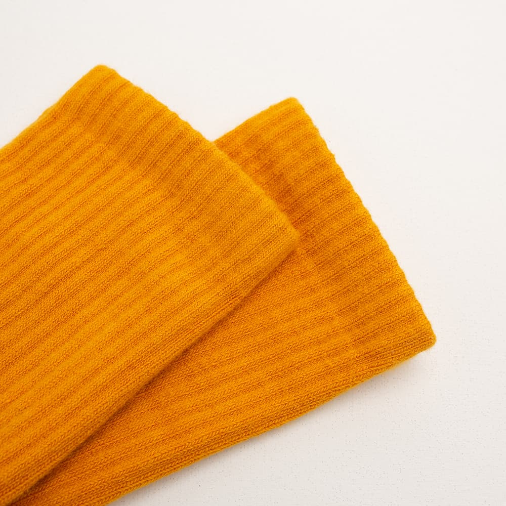 FAAM|On Fleek 70 橙黃 - 中高筒運動休閒襪